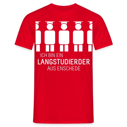 aus Enschede (Shirt - Heren) - Men's T-Shirt