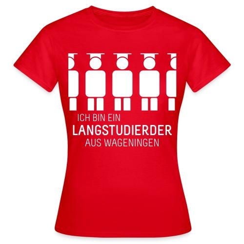 aus Wageningen (Shirt - Dames) - Women's T-Shirt