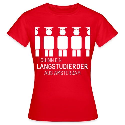 aus Amsterdam (Shirt - Dames) - Women's T-Shirt
