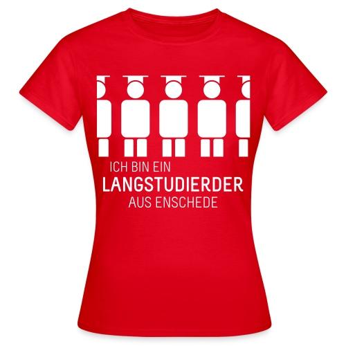 aus Enschede (Shirt - Dames) - Women's T-Shirt