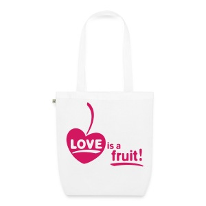 Womens - LOVE is a fruit! 1cW - Bio-Stoffbeutel