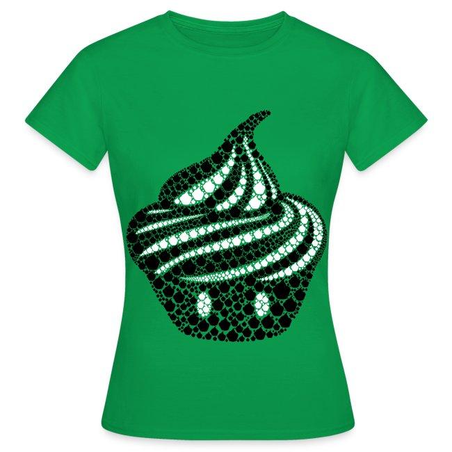 T-shirt Cream particules Femme