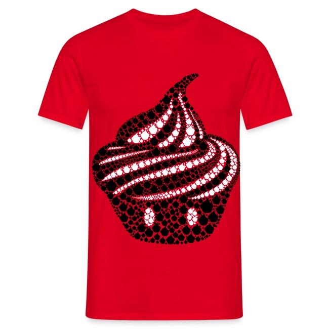 T-shirt Cream particules Homme