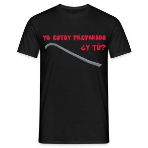 camiseta walking dead - estoy preparado - chico manga corta - Camiseta hombre