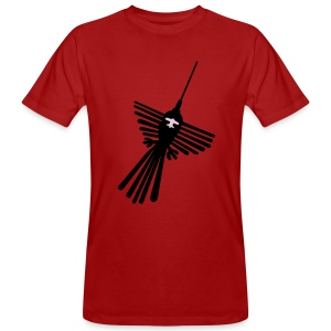 Nazca Vogel Shirt - Männer Bio-T-Shirt