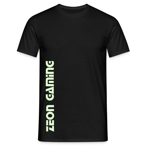 Glow-In-The-Dark Zeon Gaming T-Shirt - Men's T-Shirt