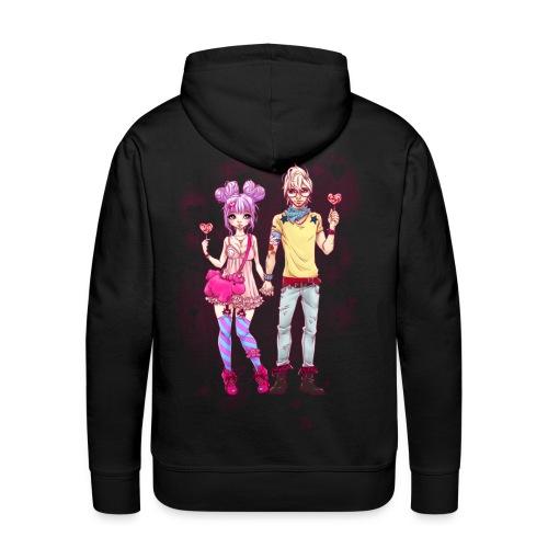 LOVE IS SWEET men's hoodie - Männer Premium Hoodie