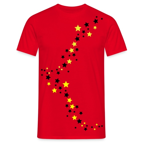 Mens star shirt  - Men's T-Shirt