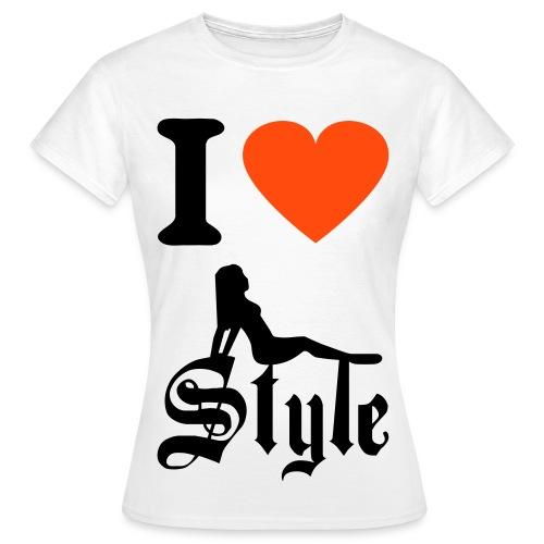 Women i love style tee - Women's T-Shirt