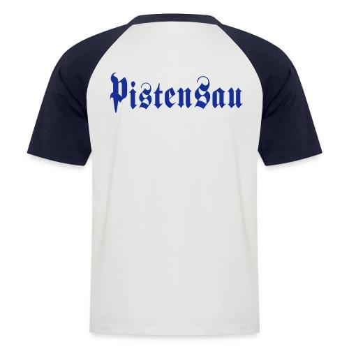 Pistensau - Männer Baseball-T-Shirt