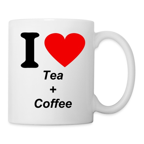 I love tea and coffee mug - Mug