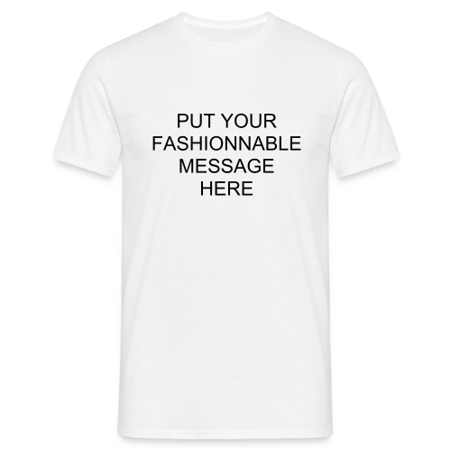 CREATE YOUR FASHIONNABLE (Male) - Men's T-Shirt