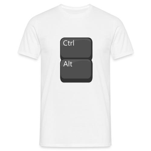 Alt under Ctrl - T-shirt herr
