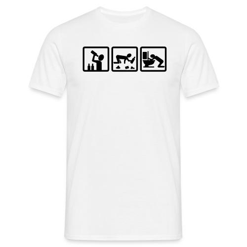 Saufathlon - Männer T-Shirt