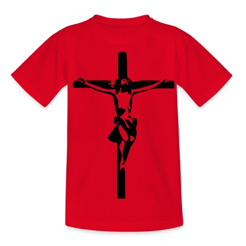 Jesus T-Shirt Für Kinder - Teenager T-Shirt