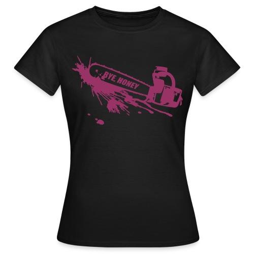 BYE, HONEY! red glitter (classic) - Frauen T-Shirt