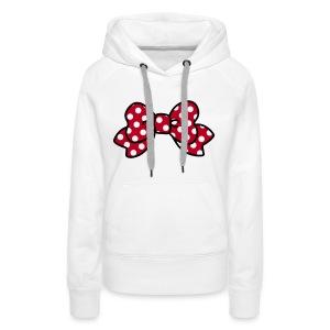 CUTE RIBBON hoodie minnie - Frauen Premium Hoodie