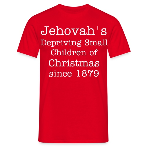 Jehovah's Christmas - Men's T-Shirt