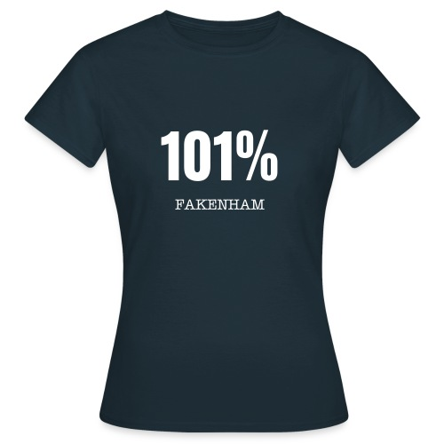 Ladies 101% Fakenham t-shirt - Women's T-Shirt