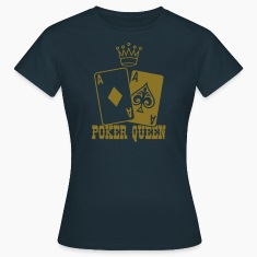 Poker Queen T-Shirts