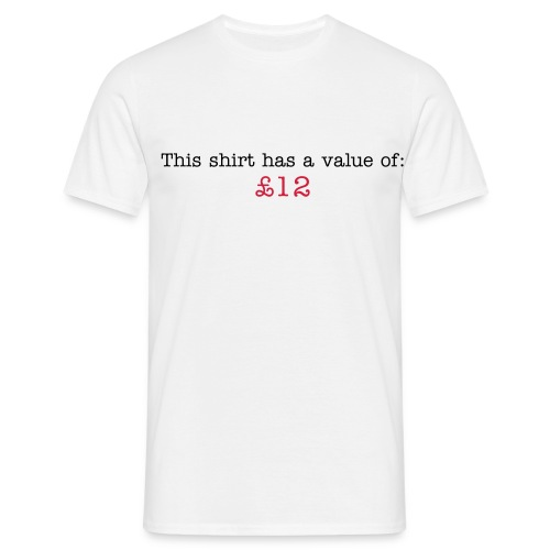 £12 - mens tee - Men's T-Shirt
