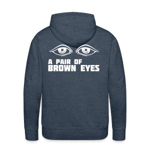A Pair of Brown Eyes - Men's Premium Hoodie