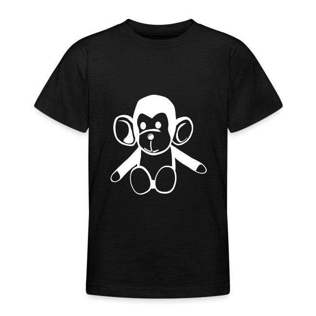 Cute For Kids - Monkey (Black/White)