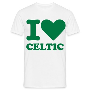 I Heart Celtic - Green - Men's T-Shirt