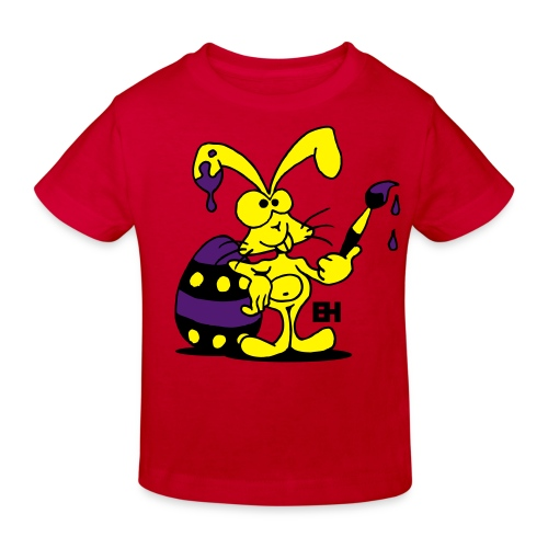 Easter Bunny - Kids' Organic T-Shirt