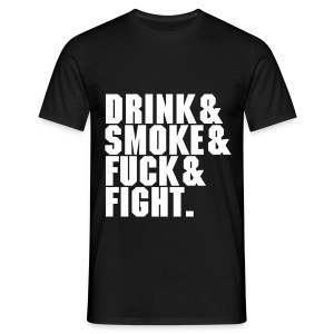 DSFF Men's black - Men's T-Shirt