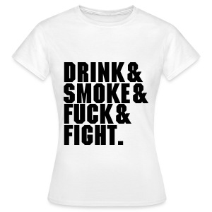 DSFF Women's white - Women's T-Shirt