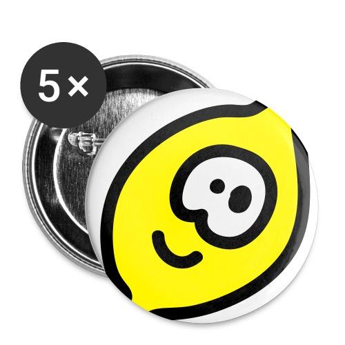 Wer Glaubt das  - Buttons klein 25 mm (5er Pack)