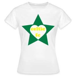 HeartStar2-ladies - Women's T-Shirt
