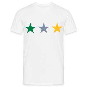 star-white - Men's T-Shirt