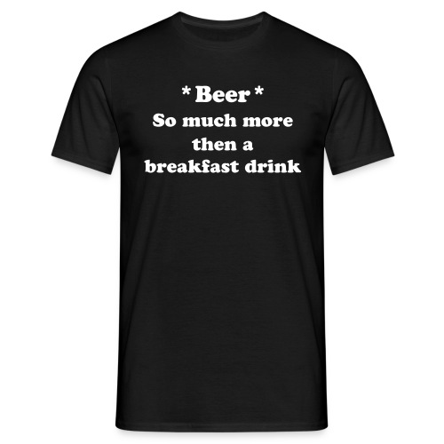 Beer - Herre-T-shirt