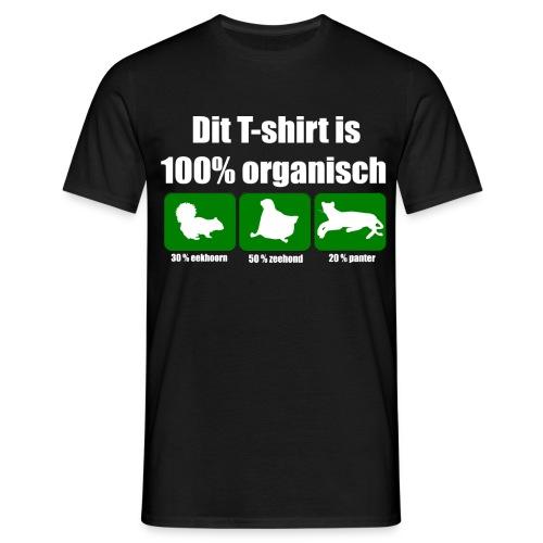 Funny T-shirt 100% Organisch - Mannen T-shirt