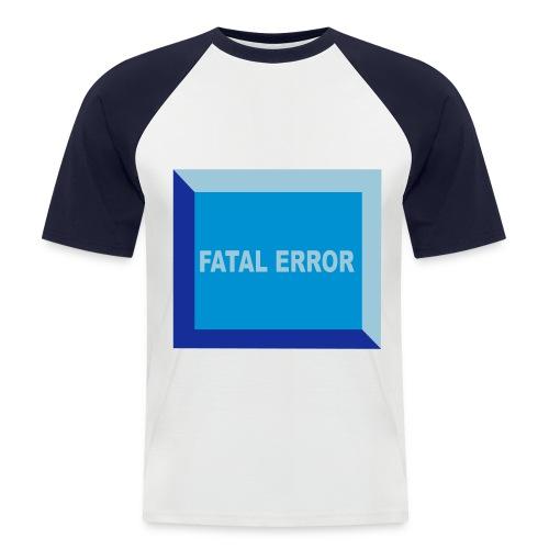 Erreur fatale01 - T-shirt baseball manches courtes Homme
