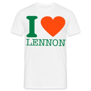 i-LUv-LENNY - Men's T-Shirt