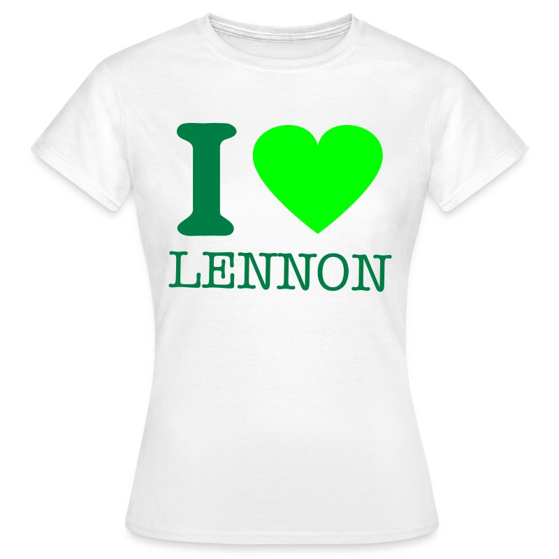 i-LUv-LENNY-WMN1 - Women's T-Shirt