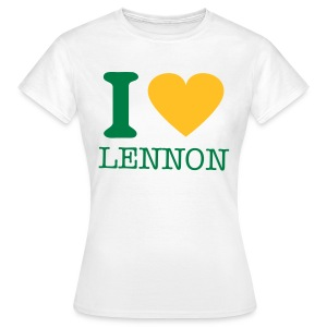 i-LUv-LENNY-WMN2 - Women's T-Shirt
