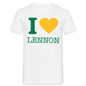 i-LUv-LENNY-MEN3 - Men's T-Shirt