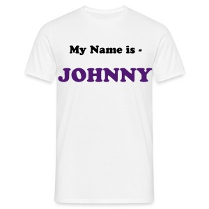 Men's T-Shirt - customise,logo,name,personalise,title
