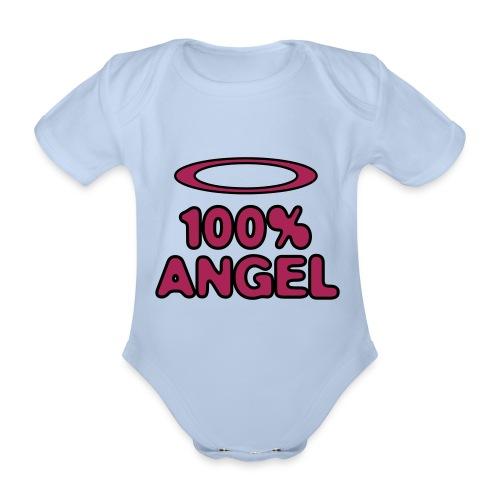 Baby Angel Body - Baby Bio-Kurzarm-Body