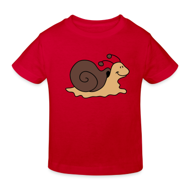 Small brown snail Kids' Shirts