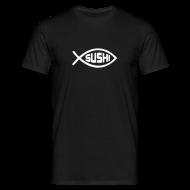 T-Shirts ~ Männer T-Shirt ~ Atheisten Shirt Sushi größen S - XXXL