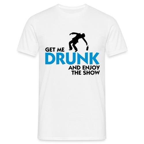 H.F.V drunk t-shirt - T-skjorte for menn