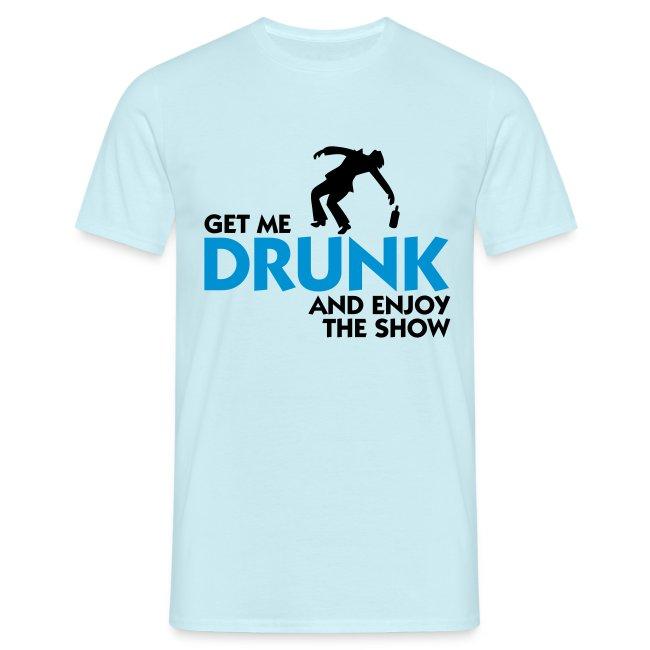 H.F.V drunk t-shirt