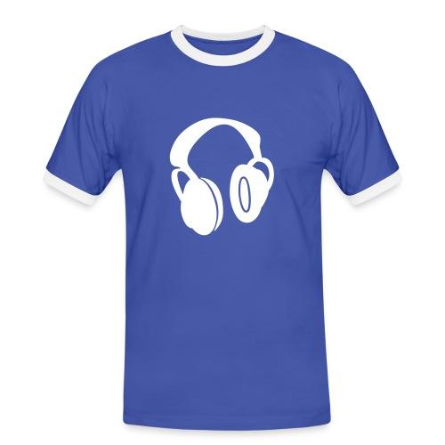 Headphones - Men's Ringer Shirt