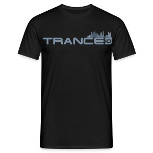 TRANCE ID MAN - Special Edit - YOUR MESSAGE! - Men's T-Shirt