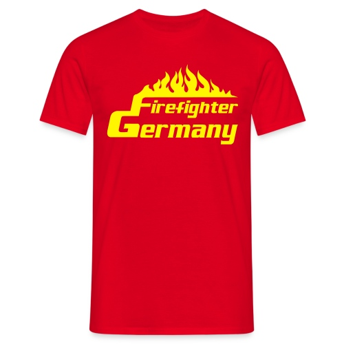 T-Shirt Männer Firefighter-Germany - Männer T-Shirt